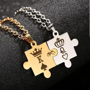 Jewelry - King And Queen Necklace Set